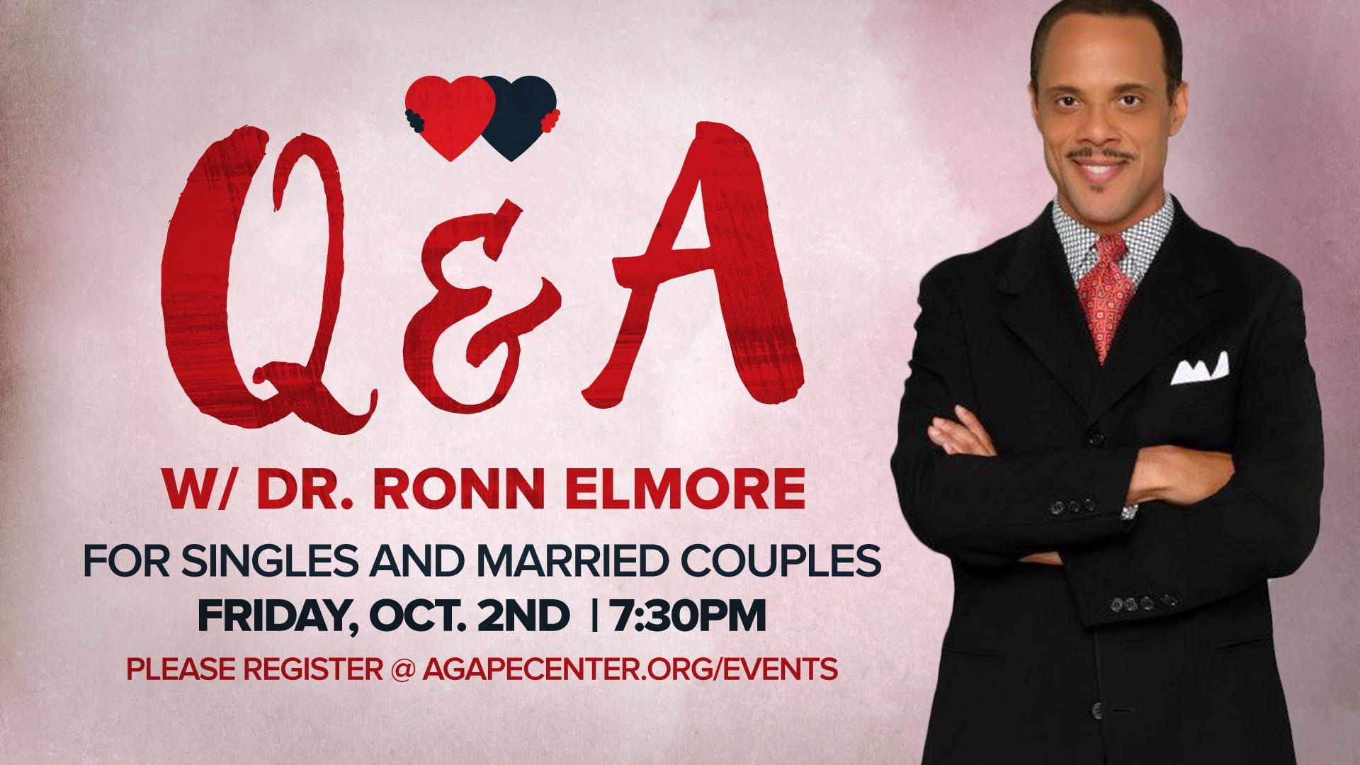Q & A with Dr. Ronn Elmore